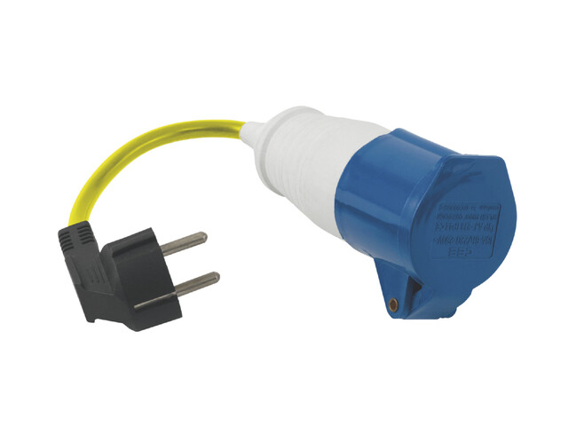 Outwell Conversion Lead Plug geel/blauw